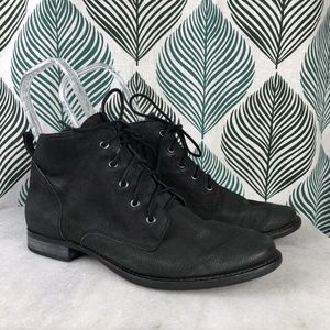 7e97fcc57f3f Sam Edelman Shoes - Sam Edelman Mare Women Black Lace Up Ankle Boots